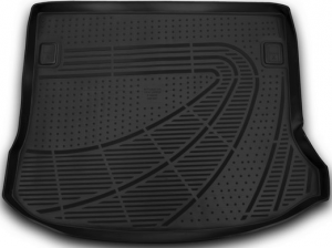 Коврик в багажник LADA Largus, 2012->, 5 мест, 1 шт. (полиуретан)