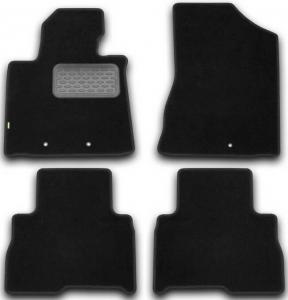 Коврики в салон Klever KIA Sorento АКПП 2012->, внед., 4 шт. (текстиль)