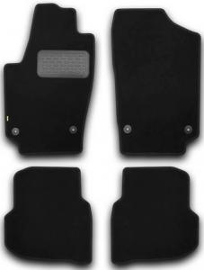 Коврики в салон Klever Volkswagen Polo 2009 – 2015, седан (текстиль)