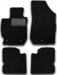 Коврики в салон Klever NISSAN Almera АКПП 2012->, сед., 4 шт.(текстиль)