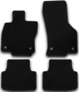Коврики в салон Klever SKODA  Octavia 2013->, сед., 4 шт.(текстиль)