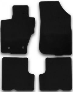 Коврики в салон Klever RENAULT Duster 2WD/4WD 2015->, кросс., без ручки для дистанционного открытия лючка бензобака, 4 шт. (текстиль)