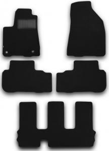 Коврики в салон Klever Toyota Highlander 3 (текстиль)