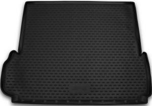 Коврик в багажник TOYOTA Land Cruiser Prado 150 2013->, 7 мест, внед., длин., 1 шт. (полиуретан)