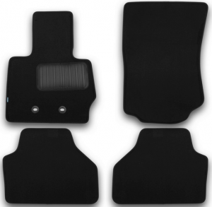 Коврики в салон Klever BMW X3 2010-2014, 2014->, кросс., 4 шт. (текстиль)