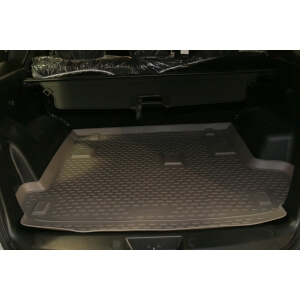 Коврик в багажник GREAT WALL Hover H3, 2010->, кросс. (полиуретан)