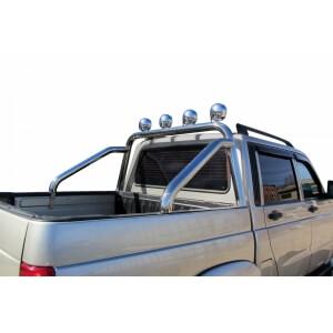 Дуга в кузов Уаз Pickup (с креплениями под ПТФ)
