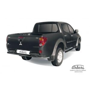 Защита заднего бампера Mitsubishi L200 2006 – 2014