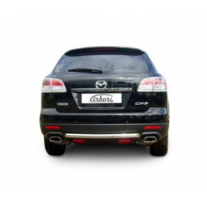Защита заднего бампера Mazda CX-9 до рестайлинга