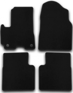 Коврики в салон Klever LIFAN X 60 2012->, кросс., 4 шт. (текстиль)