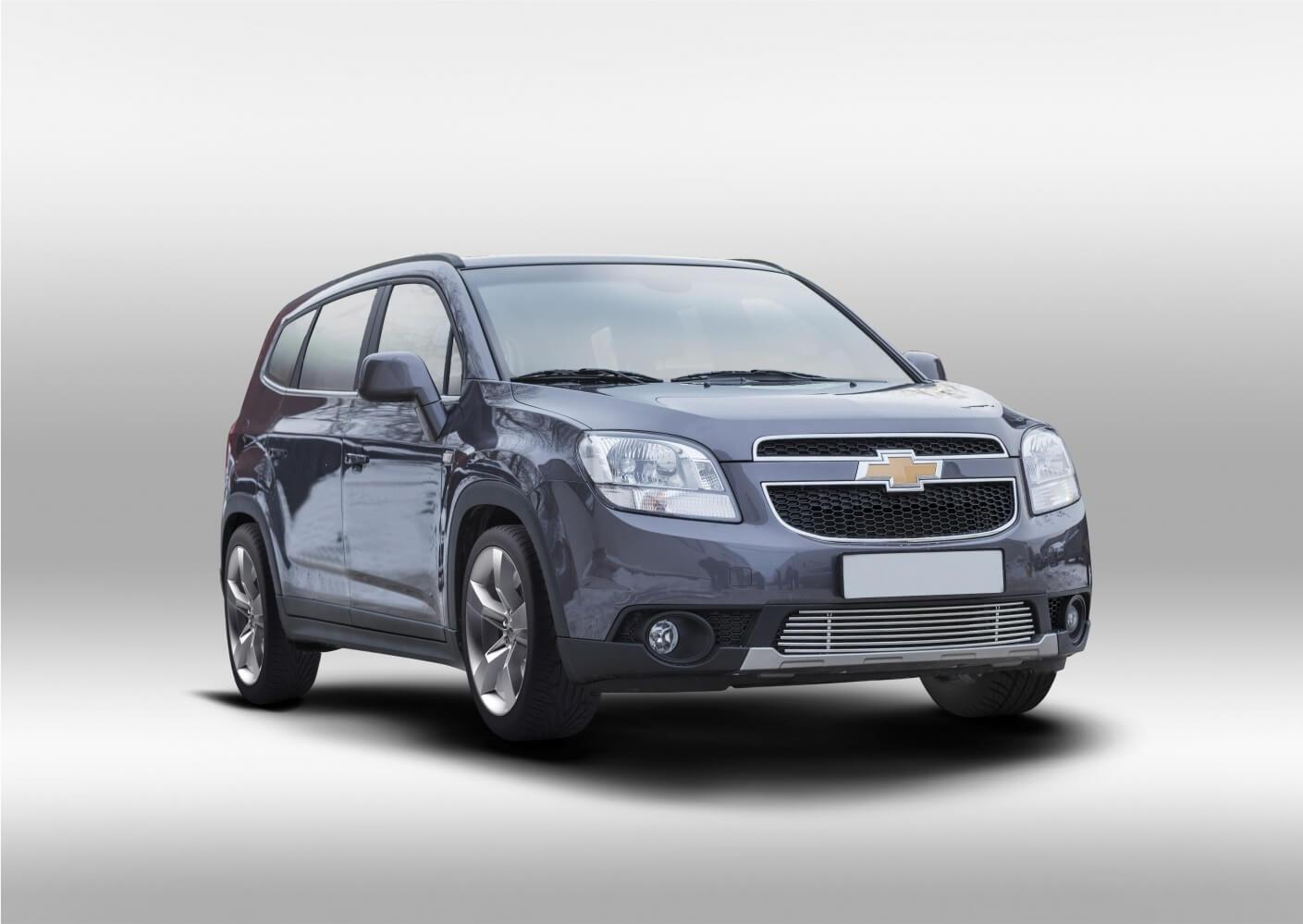 Декоративные элементы воздухозаборника d10,Chevrolet Orlando 2012- хром, CHOR.97.2330