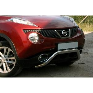 "Решетка передняя мини d 60 низкая  ""Nissan Juke"" 2011-, NJUK.56.1336"