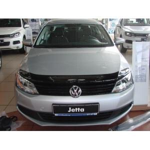 Дефлектор капота темный VW JETTA sed. 2011-, NLD.SVOJET1012