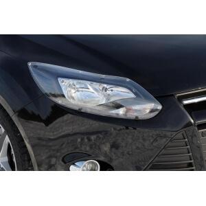 Защита передних фар Ford Focus 2010 – 2015 (прозрачная)