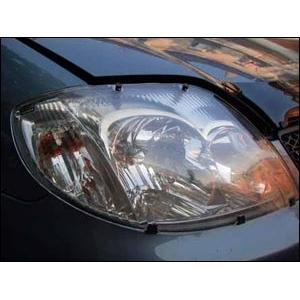Защита передних фар Toyota Corolla 2001 – 2007 (прозрачная)