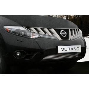 Декоративный элемент нижнего воздухозаборника d10 мм (1эл-нт из 6 трубочек) Nissan Murano 2008-2009, NMUR.96.2956