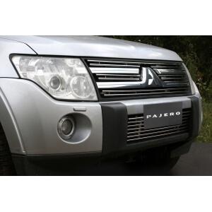 "Декоративные элементы решётки радиатора d 10 (компл 4шт) ""Mitsubishi Pajero IV"" 2006-2010, MIPJ.91.2912"