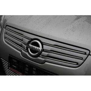 Декоративные элементы решетки радиатора радиатора Nissan Qashqai+2