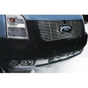 """Декоративные элементы решетки радиатора d10 мм (3 элемента, 1-я компл.) """"Ford Transit"""" 2005-"""
