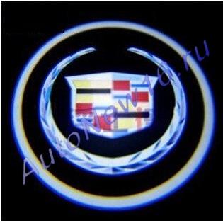 Лазерная проекция с логотипом Cadillac, фото 4