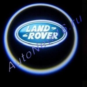 Лазерная проекция с логотипом Land Rover, фото 4