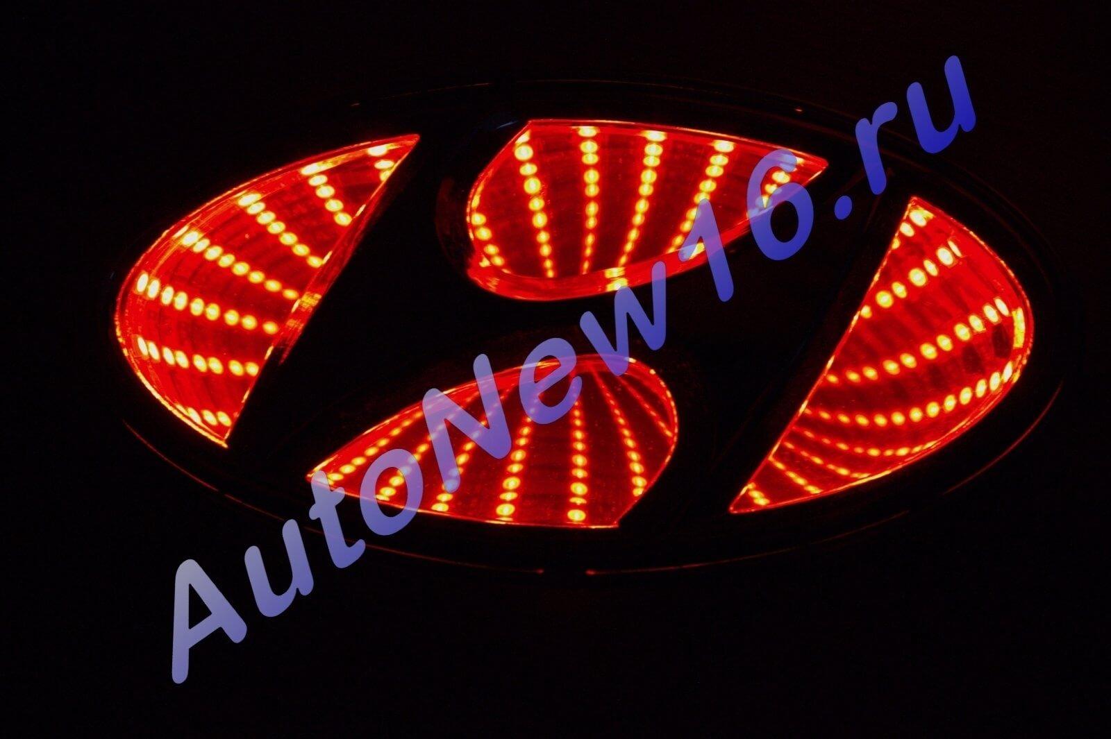 Шильдик с подсветкой Hyundai, фото 2