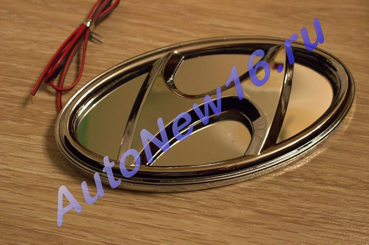 Шильдик с подсветкой Hyundai, фото 3