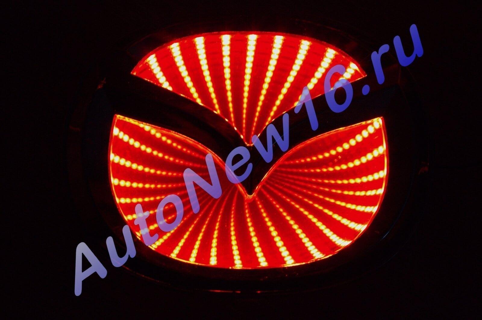 Шильдик с подсветкой Mazda, фото 2