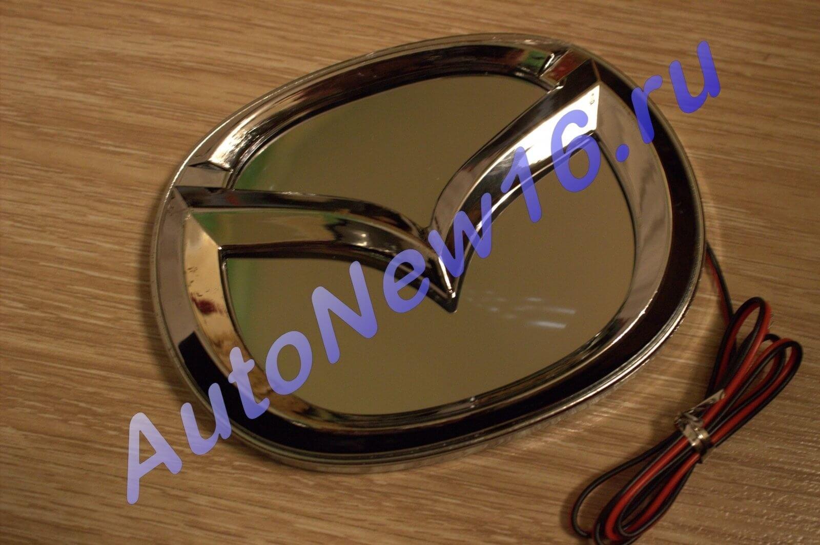 Шильдик с подсветкой Mazda, фото 3