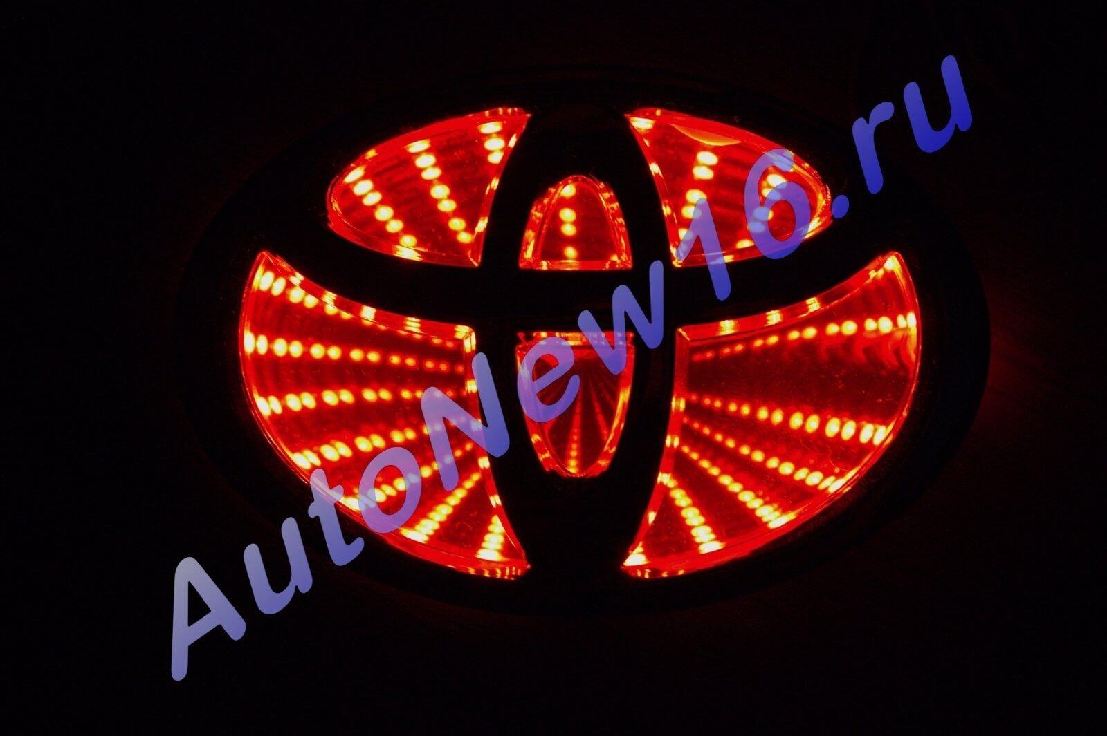Шильдик с подсветкой Toyota, фото 2