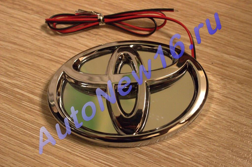 Шильдик с подсветкой Toyota, фото 3