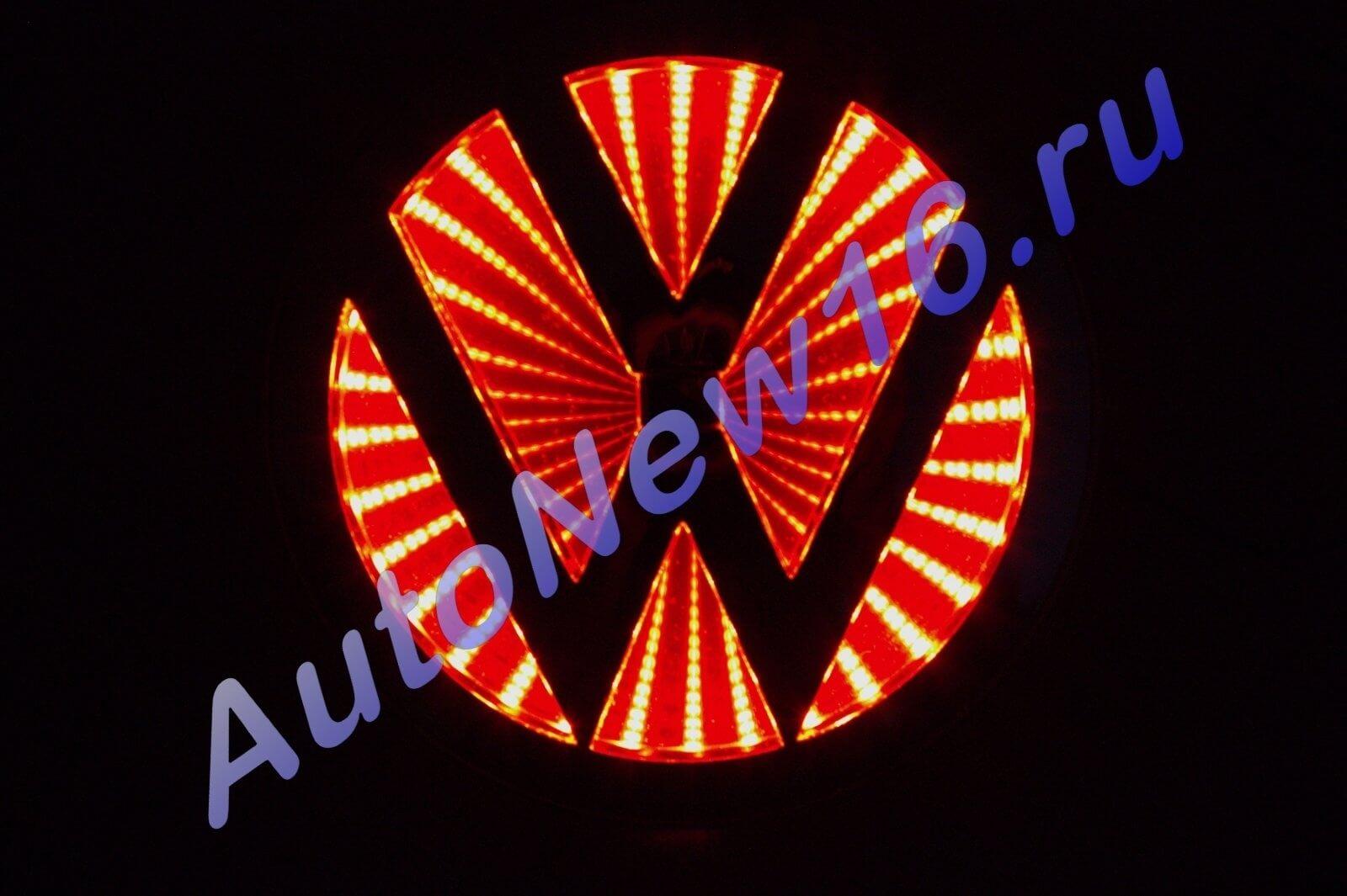Шильдик с подсветкой Volkswagen (VW), фото 2