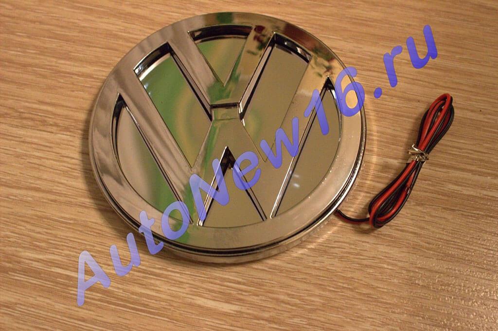 Шильдик с подсветкой Volkswagen (VW), фото 3