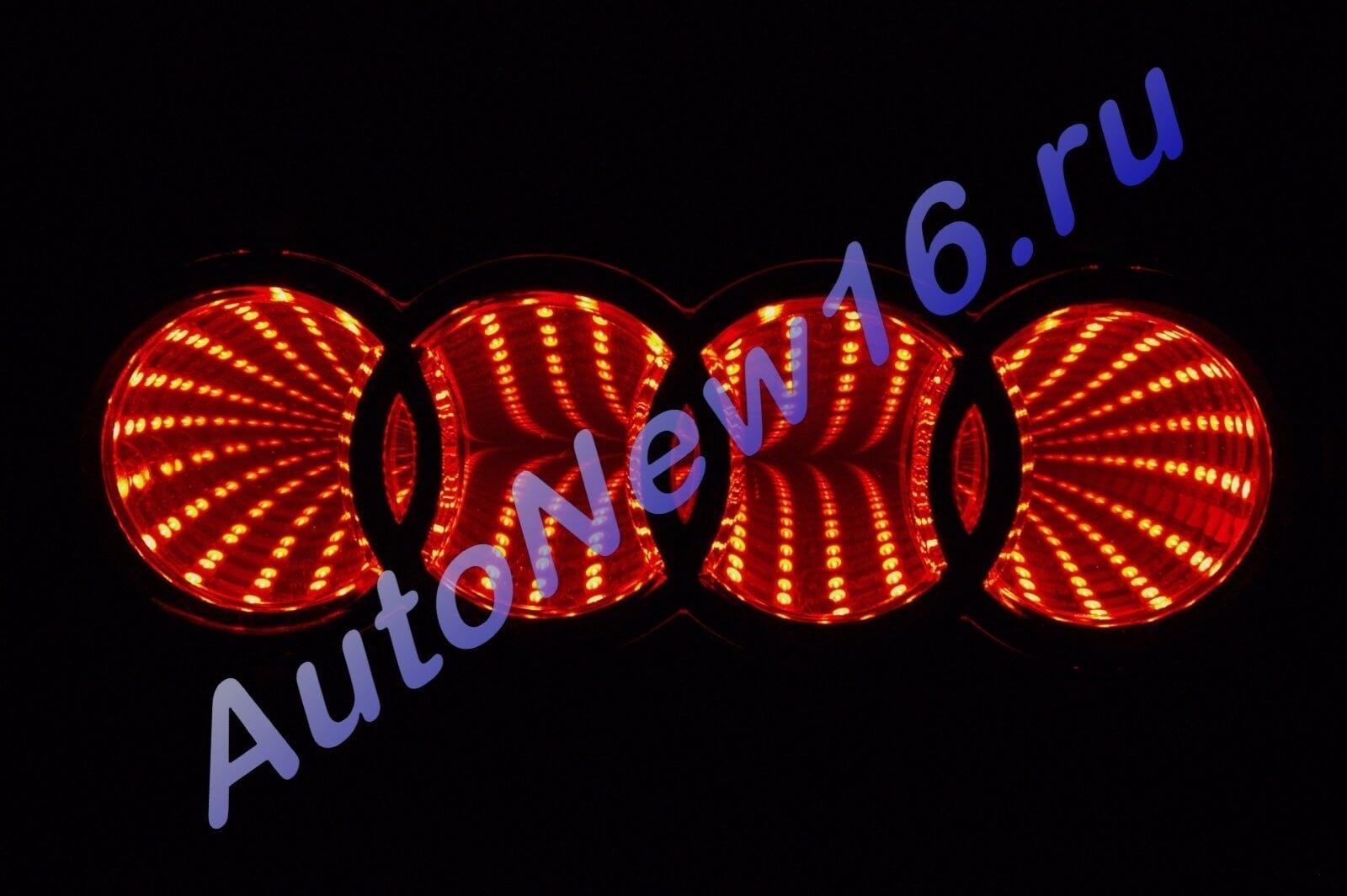 Шильдик с подсветкой Audi, фото 2
