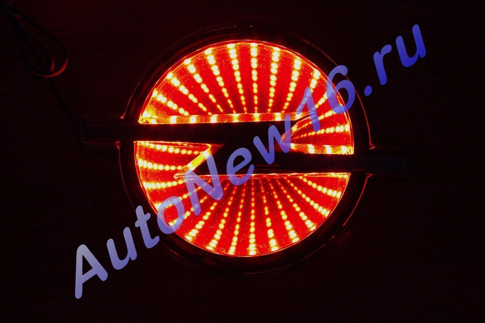 Шильдик с подсветкой Opel, фото 2
