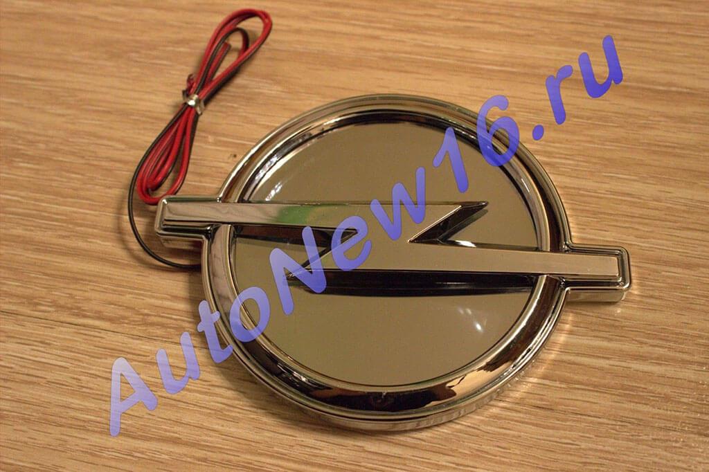 Шильдик с подсветкой Opel, фото 3