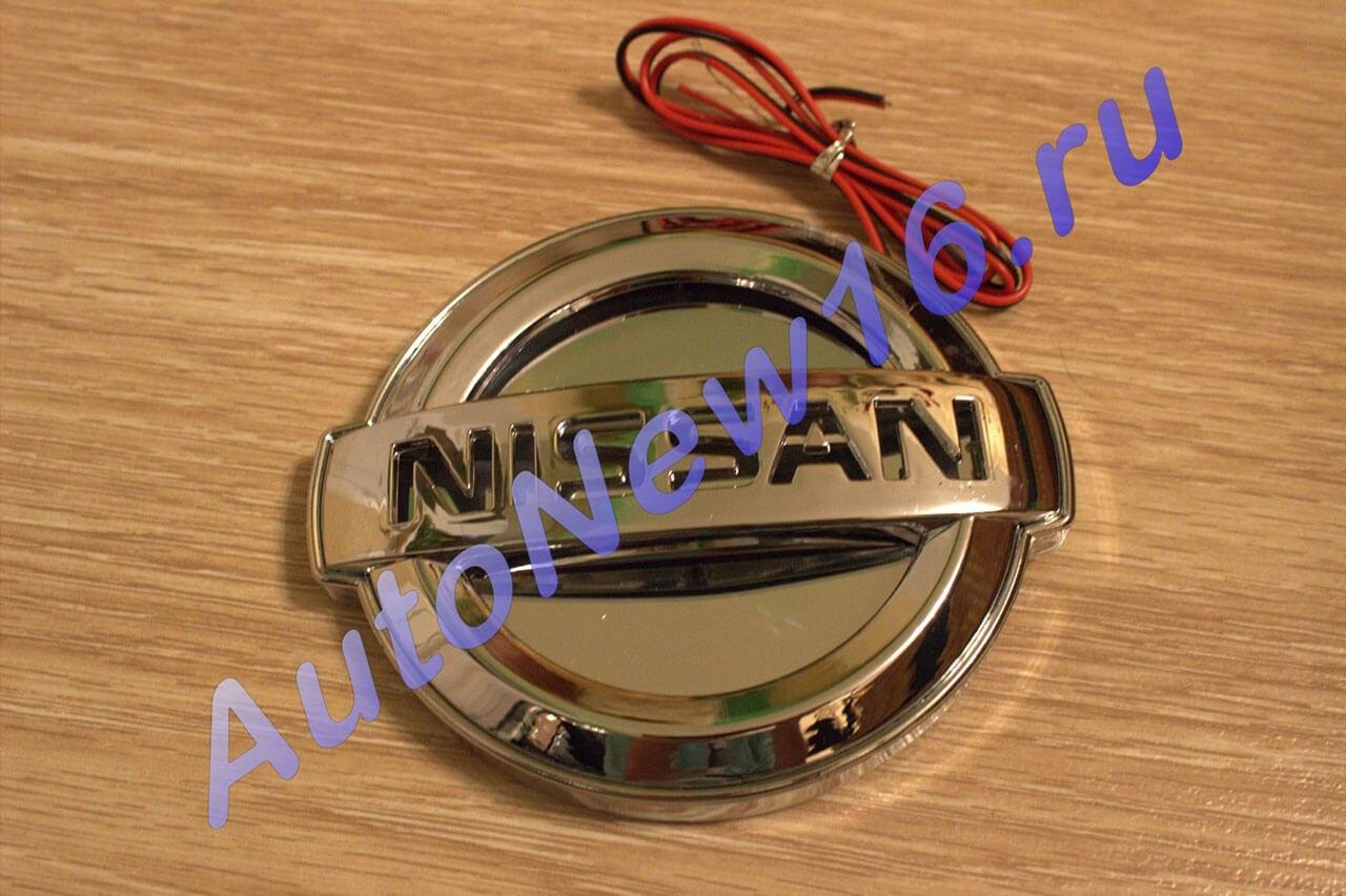 Шильдик с подсветкой Nissan, фото 3