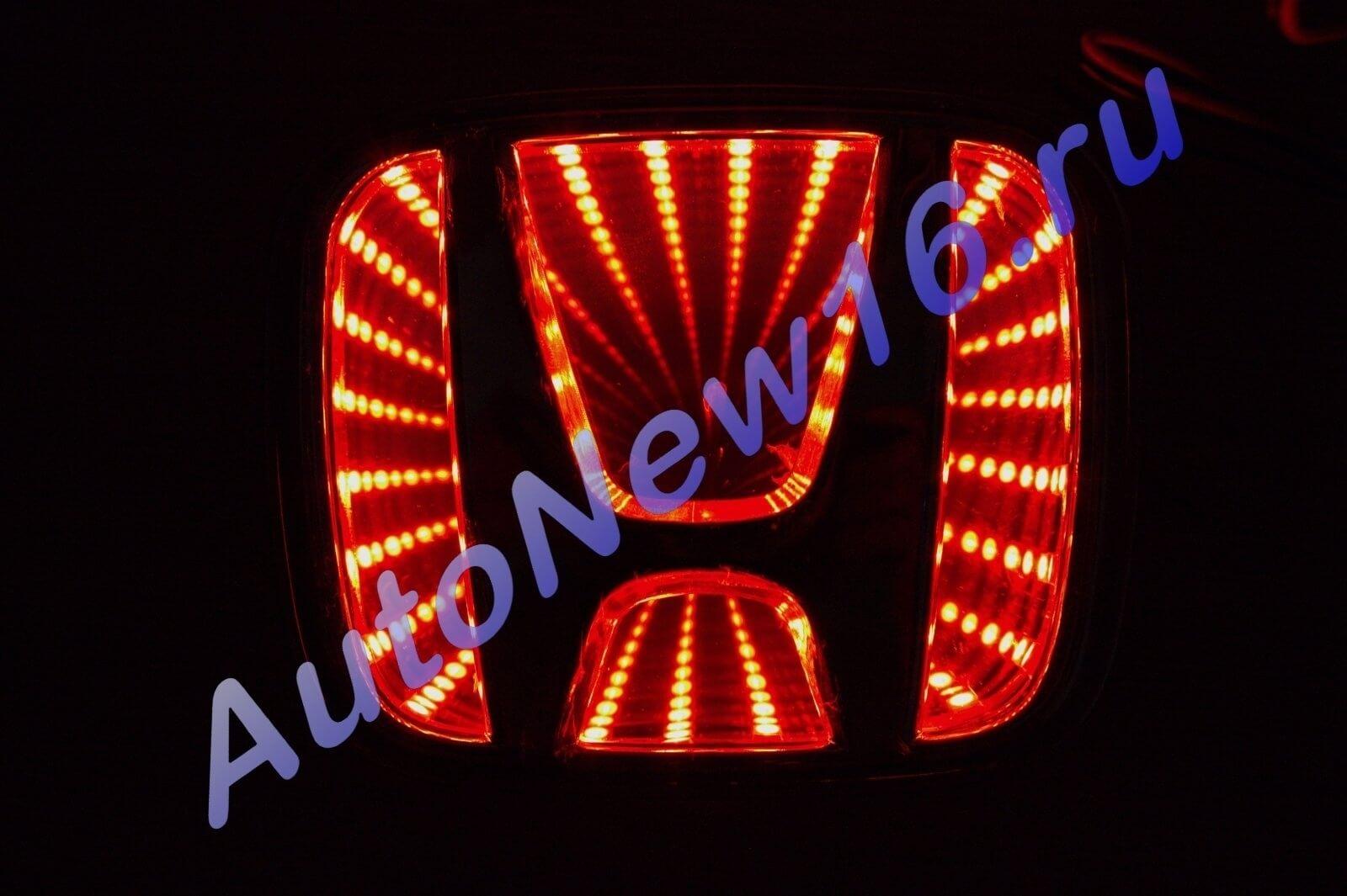 Шильдик с подсветкой Honda, фото 2