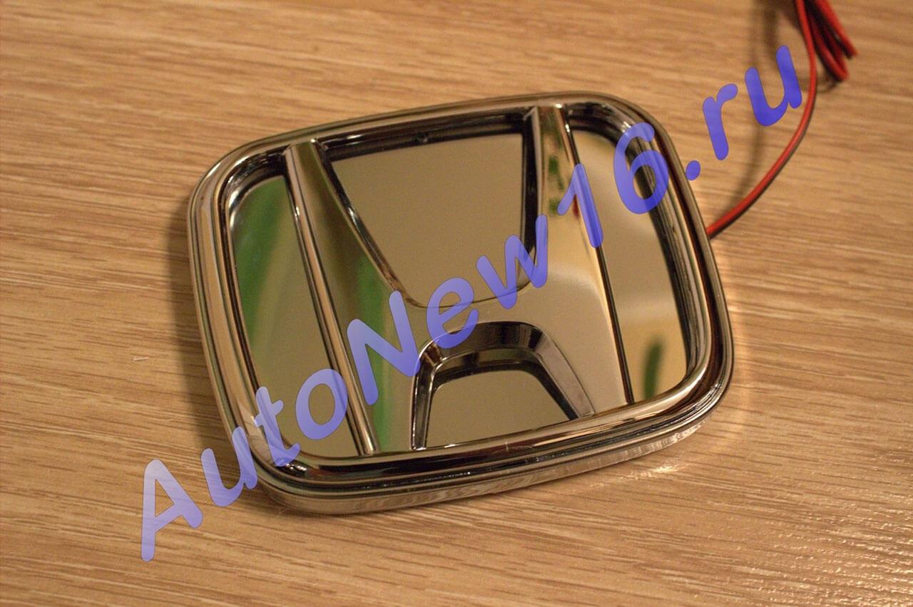 Шильдик с подсветкой Honda, фото 3