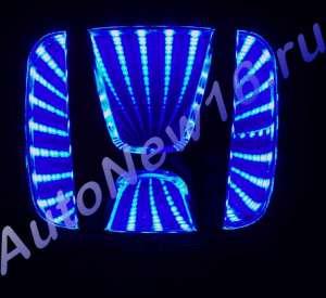 Шильдик с подсветкой Honda