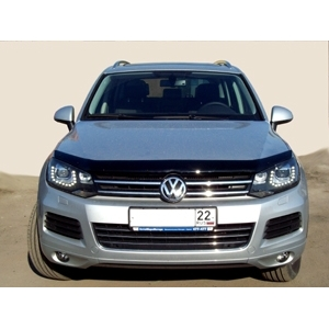 Дефлектор капота темный VW TOUAREG 2010-, NLD.SVOTOU1012