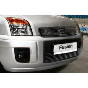 """Декоративный элемент решетки радиатора d10 (1 элемент из 7 трубочек) """"Ford Fusion"""" 2006- хром, FFUS.92.2122"""