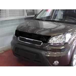Дефлектор капота темный KIA SOUL 2009-2011, NLD.SKISOU0912