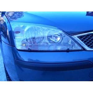 Защита передних фар Ford Mondeo 3 (прозрачная)
