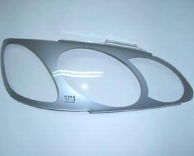 Защита передних фар Toyota Corolla Spacio 1997 – 2001 (серебристые)