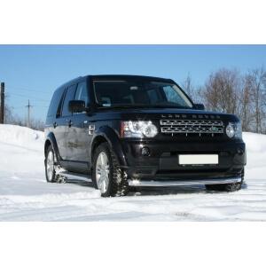 "Защита переднего бампера d 76 труба ""Land Rover Discovery IV"", LRDV.48.1243"