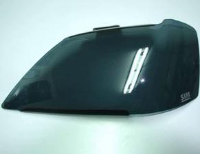 Защита передних фар Renault Logan 2004 – 2009