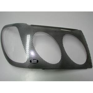 Защита передних фар Toyota Land Cruiser 2005 – 2007 (карбоновая)