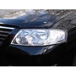 Защита передних фар Nissan Almera Classic (прозрачная)