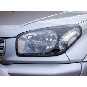Защита передних фар Toyota RAV 4 2000 – 2003 (карбоновая)